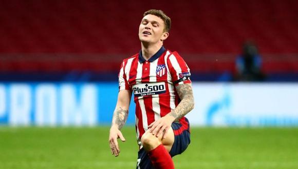 El lateral inglés culmina su contrato con el Atlético de Madrid en el 2023. (Foto: Reuters)