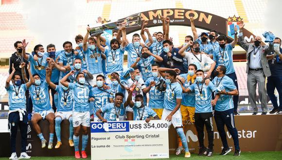 FIFA felicitó a Sporting Cristal por ganar la Liga 1. (Foto: Sporting Cristal)