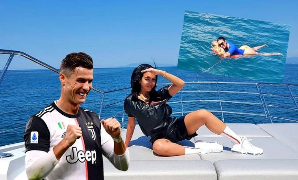 Cristiano Ronaldo tuvo romántico viaje con Georgina Rodríguez