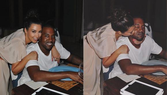 Kanye West y Kim Kardashian celebraron su aniversario de bodas. (Foto: Instagram)