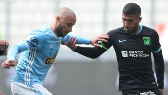 Alianza Lima y Sporting Cristal igualaron 1-1 con goles de Josepmir Ballón y Emanuel Herrera, en el marco de la fecha 8 del Torneo Apertura. El duelo fue disputado en el Estadio Nacional. FOTO: LFP