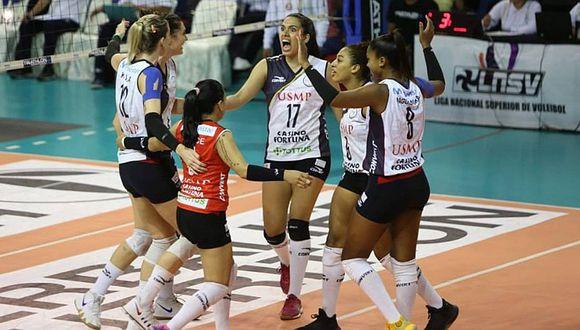 San Martín se consagró campeón de la Liga Nacional Superior de Voleibol
