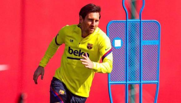 FC Barcelona empezará con entrenamientos grupales desde este lunes. (Foto: FC Barcelona)