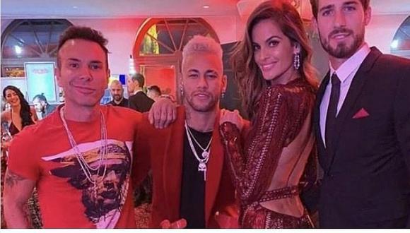 Neymar baila en muletas por cumpleaños número 27