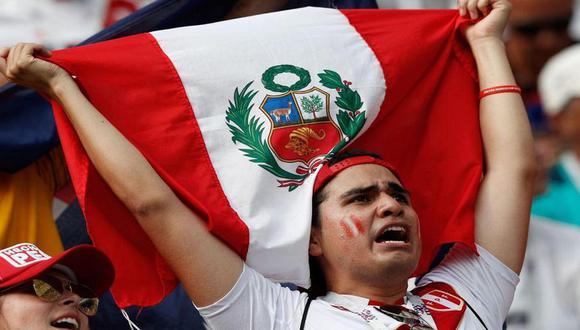 Hincha peruano no se quedó callado ante la mofa de los argentinos. (Foto referencial)