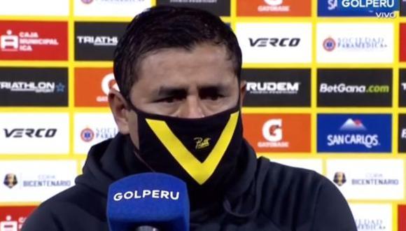 Jorge Espejo es entrenador de Cantolao desde octubre del año pasado. (Captura: GOLPERU)