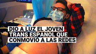 Conoce a Rubén Castro, el hombre trans embarazado en España cuya historia conmovió a las redes