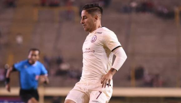 Alejandro Hohberg es el máximo goleador de Universitario en el año