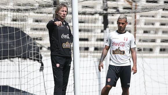 Perú - Uruguay   Selección peruana cambió lugar de entrenamiento tras lluvias en Montevideo   FOTO