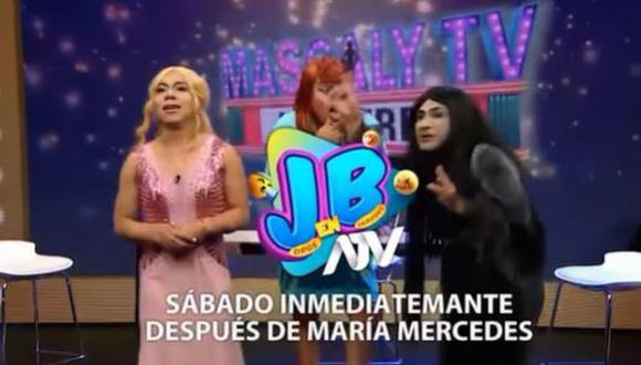 """""""JB en ATV"""" parodiará acalorada discusión entre Gisela Valcárcel y Allison Pastor. (Foto: captura de video)."""