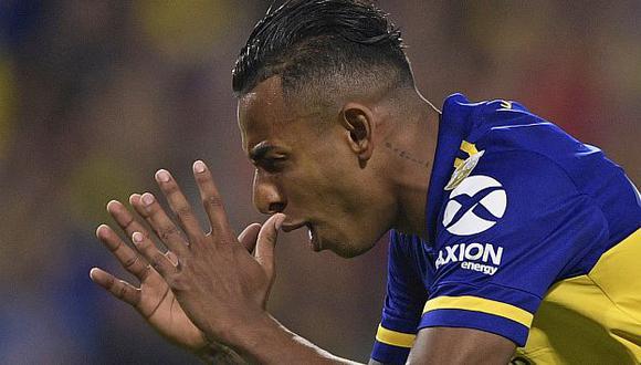 Sebastián Villa es jugador de Boca Juniors desde junio del 2018. (Foto: AFP)