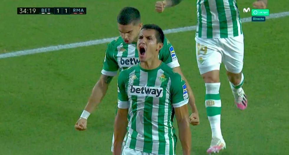Real Madrid vs. Real Betis: los dos goles en dos minutos de los verdiblancos para darle vuelta al partido | VIDEO