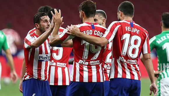 Atlético de Madrid y Leipzig se verán las caras en cuartos de final de la Champions League. (Foto: Atlético de Madrid)