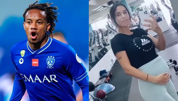 Suhaila Jad publicó un video en el que muestra que está embarazada y tendrá otro hijo de André Carrillo.