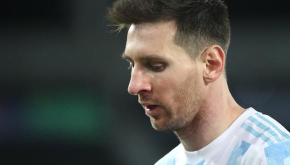 Lionel Messi ha participado seis veces en Copa América con la 'Albiceleste' e igualó a Américo Tesoriere.  (Foto: Reuters)