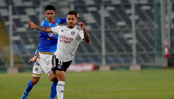 Colo Colo empató 1-1 con Audax Italiano en el Estadio Monumental David Arellano.