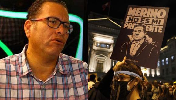 El polémico comunicador utilizó su programa para referirse a los miles de jóvenes que salieron a marchar en contra de Manuel Merino en el mes de noviembre.