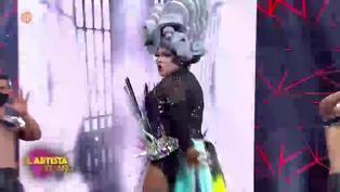 """'Choca' Mandros sorprende como Drag Queen en """"El artista del año"""""""