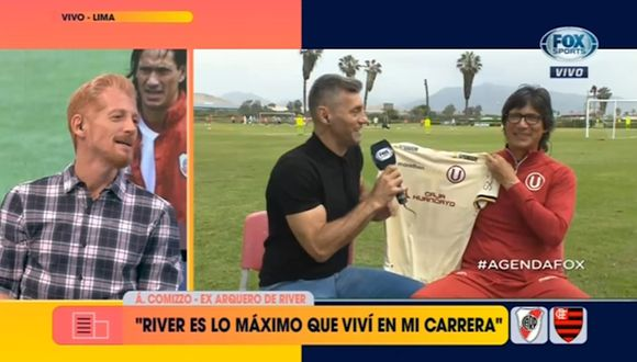 Final de Libertadores | Martín Liberman le 'reclamó' en vivo a Comizzo por no regalarle una camiseta de Universitario [VIDEO]