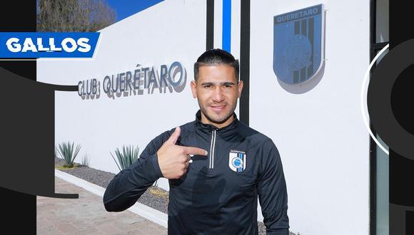 Dos Santos viene de jugar la temporada 2020 en el Perú con la 'U'. (Foto: Querétaro)