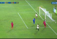 Universitario vs. Sport Huancayo: Dos Santos le robó el gol en la línea a Urruti y puso el 2-1 | VIDEO