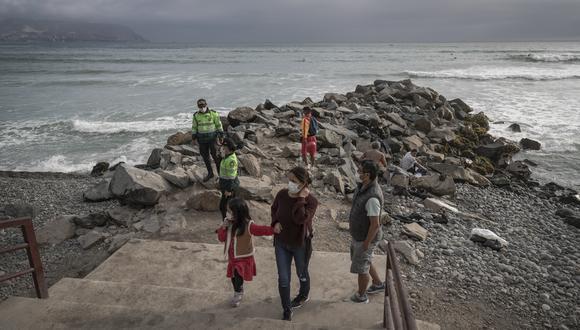 Desde el martes 1 de junio se permitirá el ingreso a las playas, en el contexto de la pandemia del COVID-19. (Foto: Renzo Salazar/GEC)