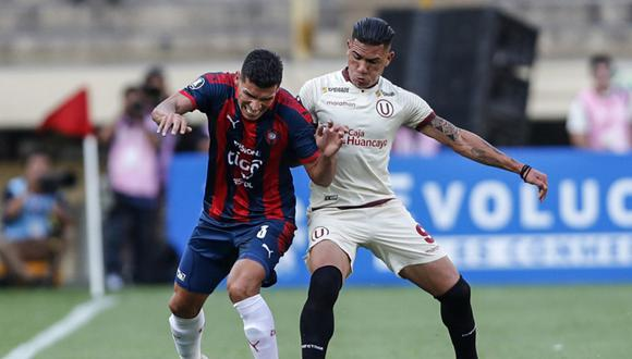 Universitario y Cerro Porteño empataron 1-1 en el duelo de ida de la eliminatoria. (Foto: AFP)