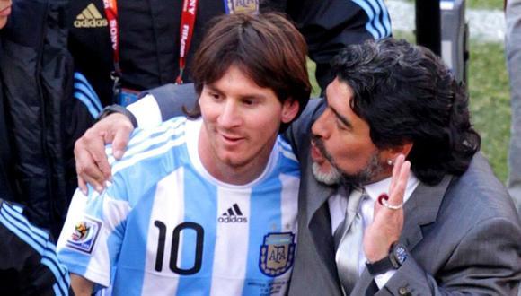 Diego Maradona se pronuncia sobre relación entre Messi y Barcelona. (DPA)