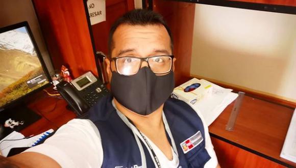 Luis Ramos Correa era bastante activo en redes sociales, donde daba consejos sobre cómo prevenir los contagios de COVID-19. (Instagram)