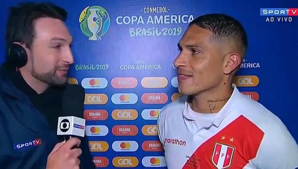"Paolo Guerrero a periodista brasileño: ""Si quieres llama favorito a Brasil, le están faltando el respeto a mi país"""