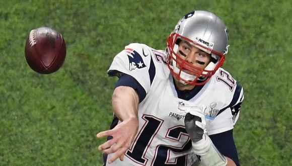 Aún es un misterio cuál será el número que usará Tom Brady esta temporada de la NFL con los Buccaneers. (Foto: AFP)