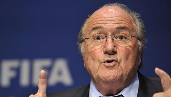 Joseph Blatter se reuniría con titular de la Federación Palestina