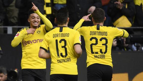 Borussia Dortmund vs. Hertha Berlin: chocan por la fecha 30 de la Bundesliga, (Foto: AFP)
