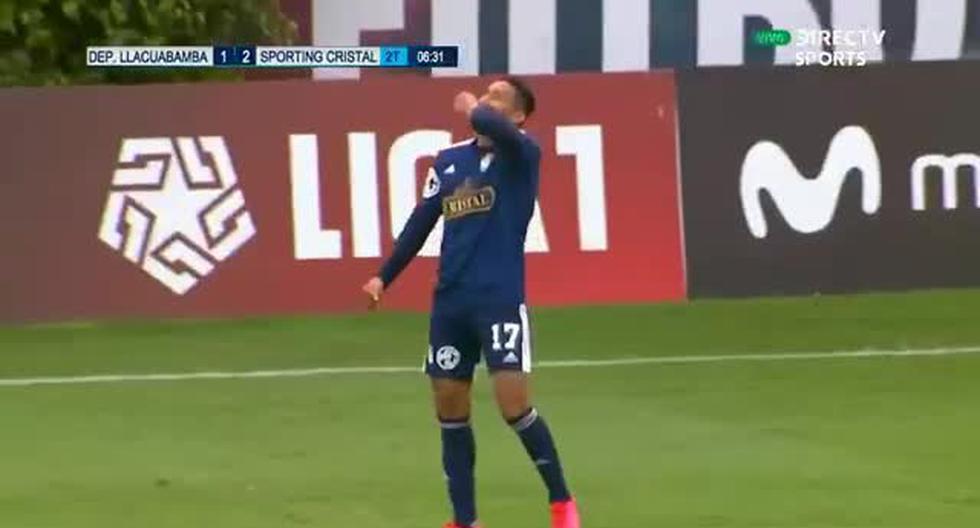 Sporting Cristal vs. Llacuabamba: Christofer Gonzáles marcó golazo para el 2-1 rimense [VIDEO]