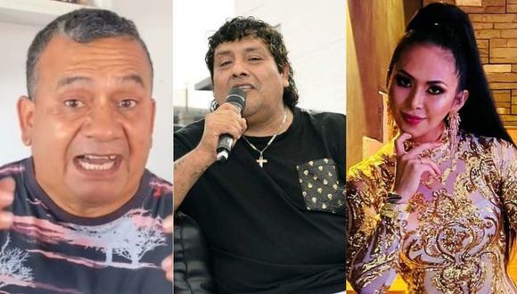 El cantante Tony Rosado y diversos famosos fueron captados en fiestas y reuniones privadas en plena pandemia. (Foto: Composición de Instagram)