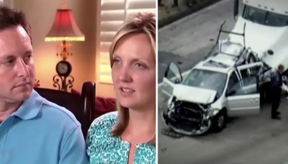 Padres disfrutan a sus trillizos, tras perder a sus tres primeros hijos en un accidente.