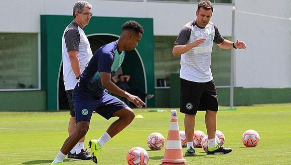 Nilson Loyola explicó la razón por la que no viene jugando en Goiás