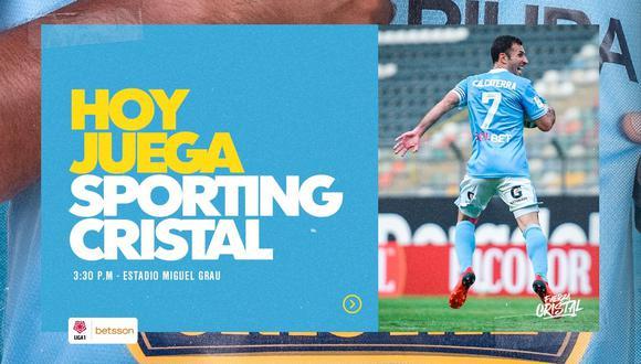 Sporting Cristal vs. Alianza Atlético EN VIVO ONLINE EN DIRECTO por la Liga 1 vía Gol Perú desde el Estadio Miguel Grau del Callao.