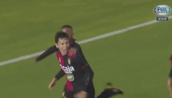 Ángel Romero y el gran cabezazo para el primer gol de Melgar [VIDEO]