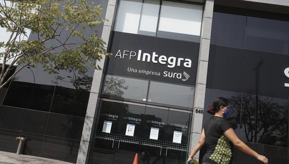 AFP Integra. (Foto: GEC)