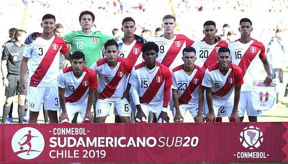 Perú vs Paraguay: hora, canal y fecha del duelo por el Sudamericano Sub-20