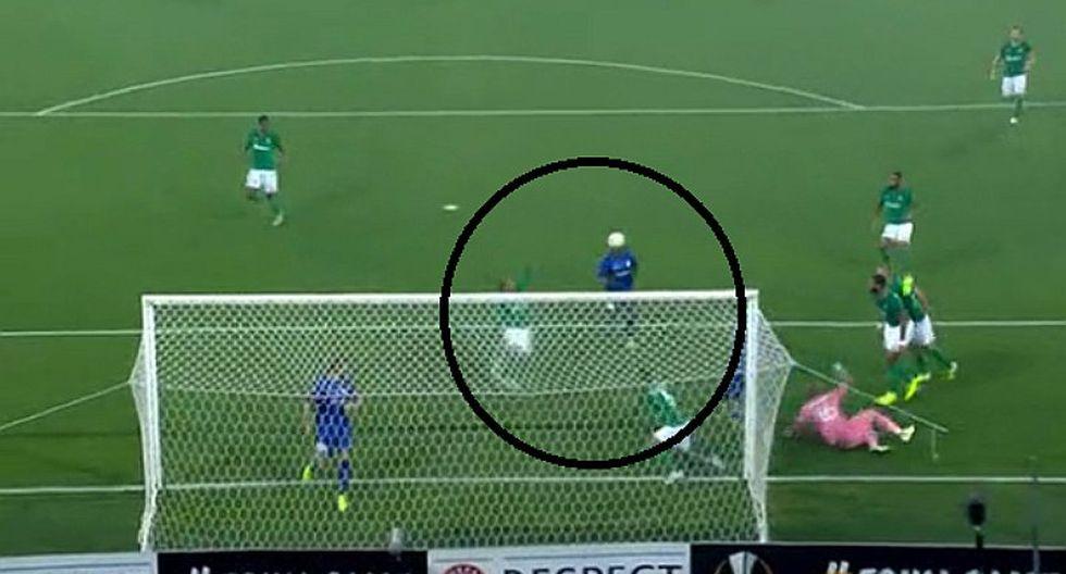 Saint-Étienne en la Europa League: Miguel Trauco estuvo a centímetros de evitar el gol de Gent | VIDEO