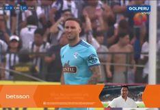 Alianza Lima vs. Sporting Cristal: así fue el regreso de Emanuel Herrera tras 7 meses de estar lesionado | VIDEO