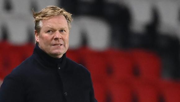 Koeman también elogió a Dembélé, autor del 1-0 azulgrana. (Foto: AFP)