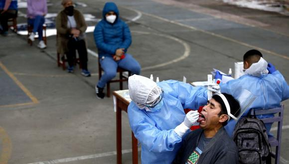 Ministerio de Salud hizo la precisión sobre la utilidad de las pruebas serológicas y moleculares. (Foto: Diana Marcelo / @photo.gec)