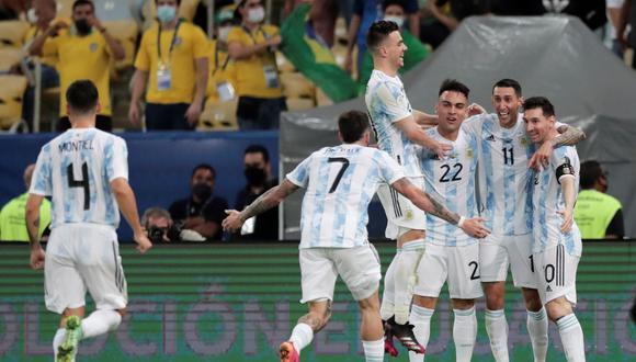 Argentina derrotó 1-0 a Brasil en el estadio Maracaná de Río de Janeiro y se coronó como campeón de la Copa América.