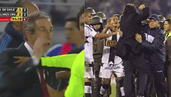 Alianza Lima: su última visita a Chile terminó en bronca y eliminado | VIDEO