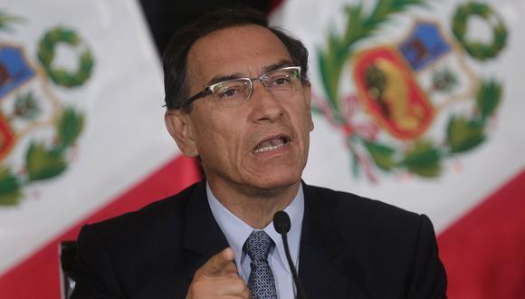 El presidente Martín Vizcarra dio una conferencia de prensa tras más de 100 días de cuarentena por el coronavirus (COVID-19). (GEC)