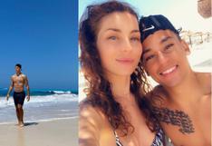 Cristian Benavente impacta con cuerpazo en playa paradisíaca junto a su novia