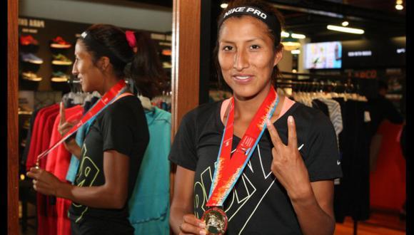 Jovana De La Cruz, maratonista peruana que correrá en los Juegos Olímpicos Tokio 2020. (Foto: Perú21)